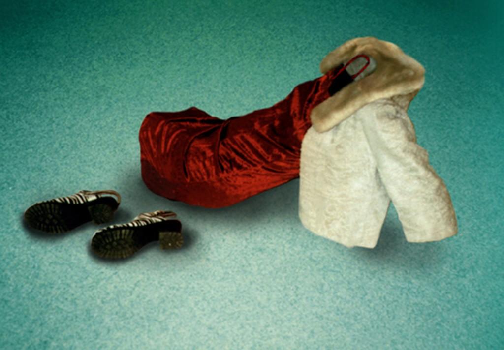 La présence des absents ll; 240 x 170cm, 1999