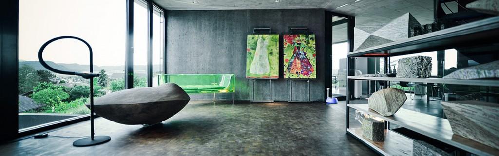 Ausstellungsansicht: Artune AG, Archtecture & Art, Frick