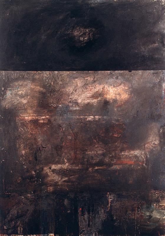 Malerei, Öl auf Leinwand, 200 x 140cm, 1990/91