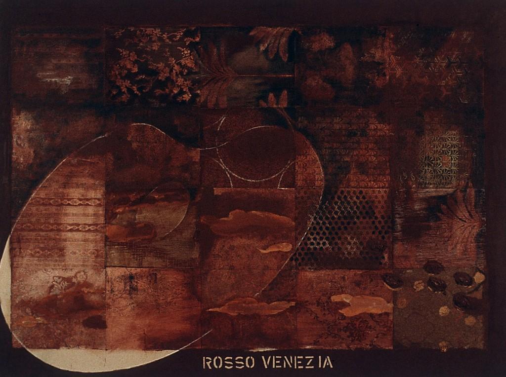 Rosso Venezia Öl auf Leinwand, 200 x 270cm, 1995