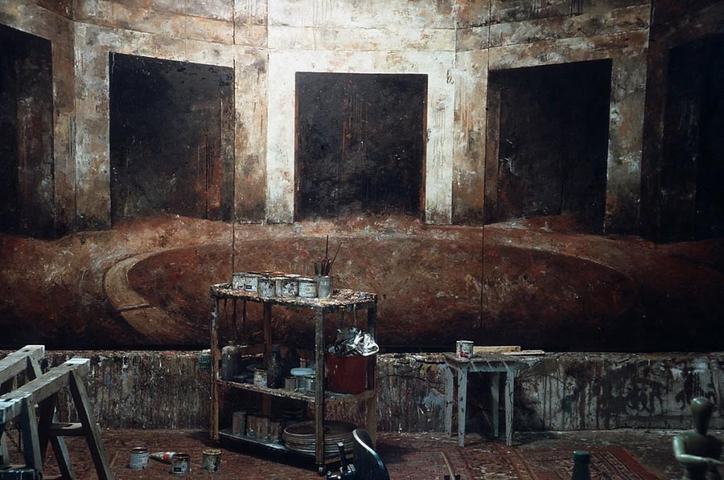 Malerei, Öl auf Leinwand, 3-teilig, 200 x 420cm, 1988