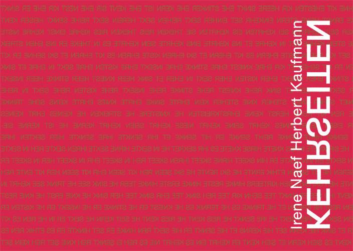 Irene Naef - Kehrseiten Titelseite