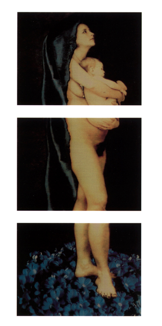 Cibachrome hinter Plexiglas, 200cm x 90cm, 1996