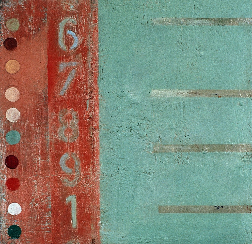 Öl auf Leinwand, 80cm x 80cm; 1995