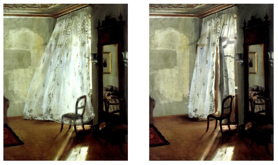 Irene Naef - Das Balkonzimmer (nach Adolph Menzel)