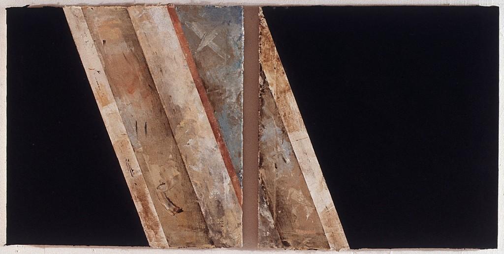 Ausschnitt, Öl auf Leinwand, 20-teilig, je 80 x 80cm, 1995