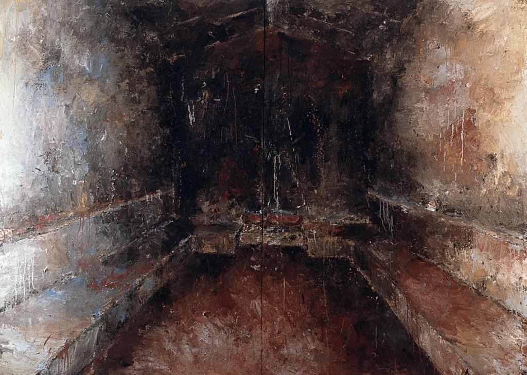 Malerei, Öl auf Leinwand, 200 x 280cm, 1989