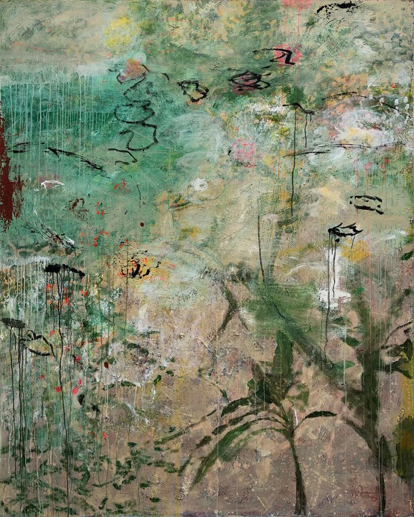 """1) 200 x 160 cm; Bild aus der Serie """"Einfach Farbe!""""; 2019"""