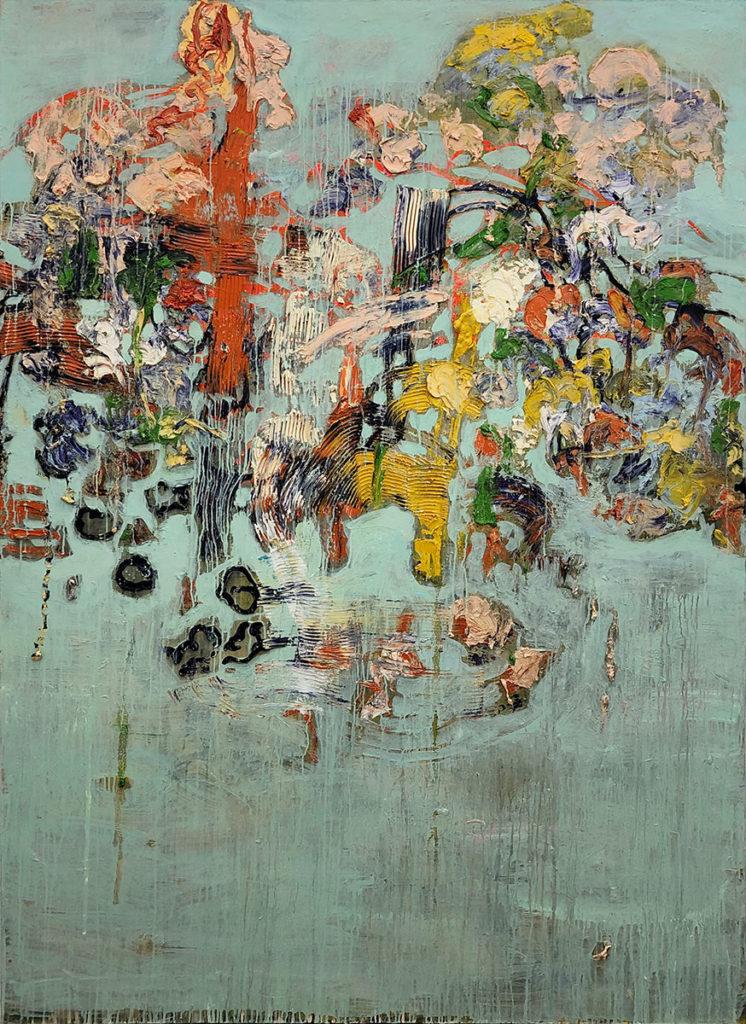 """2) 200 x 140 cm; Bild aus der Serie """"Einfach Farbe!""""; 2019"""