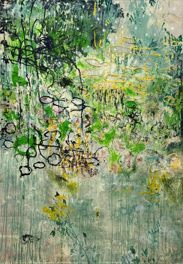 """3) 210 x 145cm; Bild aus der Serie """"Einfach Farbe!""""; 2019"""