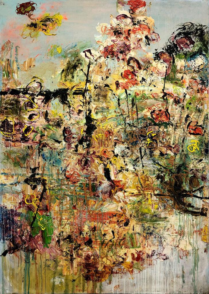 """6) 200 x 140cm; Bild aus der Serie """"Einfach Farbe!""""; 2019"""