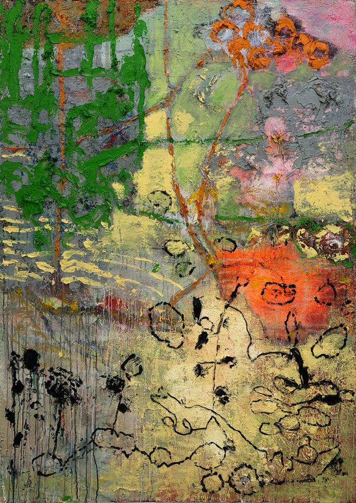 """7) 200 x 140cm; Bild aus der Serie """"Einfach Farbe!""""; 2019"""