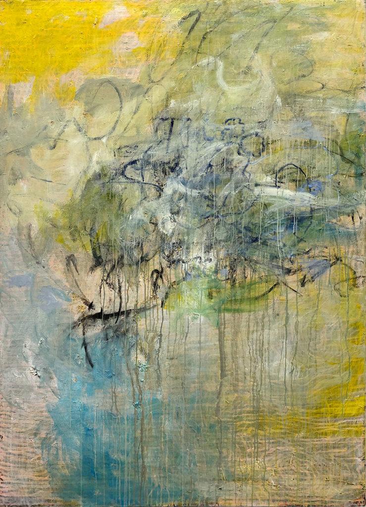 """8) 200 x 140cm; Bild aus der Serie """"Einfach Farbe!""""; 2019"""