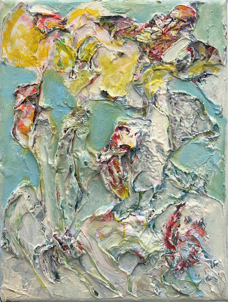 """12) 19.5 x 15cm; Bild aus der Serie """"Einfach Farbe!""""; 2019"""