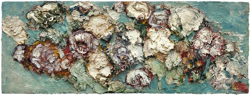 """16) 25 x 68,5cm; Bild aus der Serie """"Einfach Farbe!""""; 2019"""
