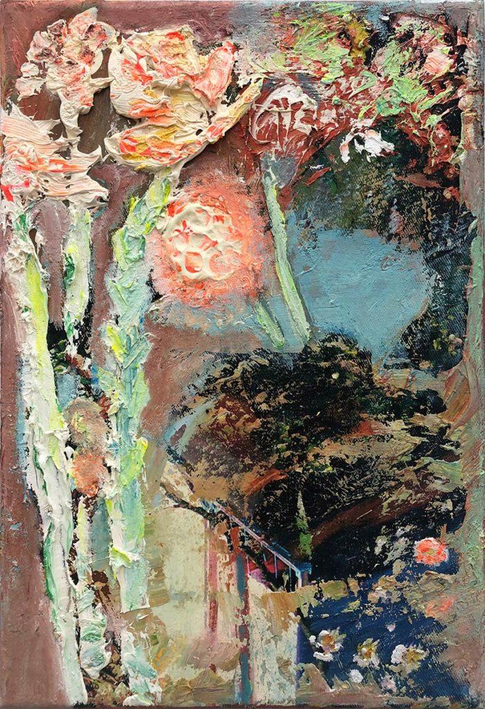 """22) 29.7 x 21cm; Bild aus der Serie """"Einfach Farbe!""""; 2019"""