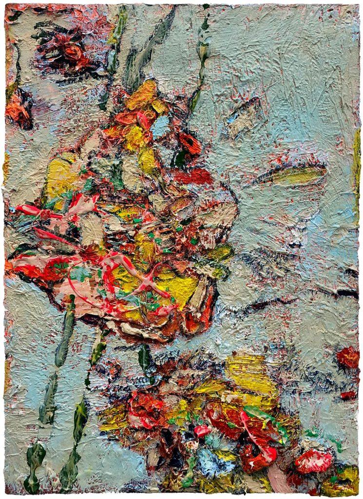"""35) 42,5 x 30cm; Bild aus der Serie """"Einfach Farbe!""""; 2019"""