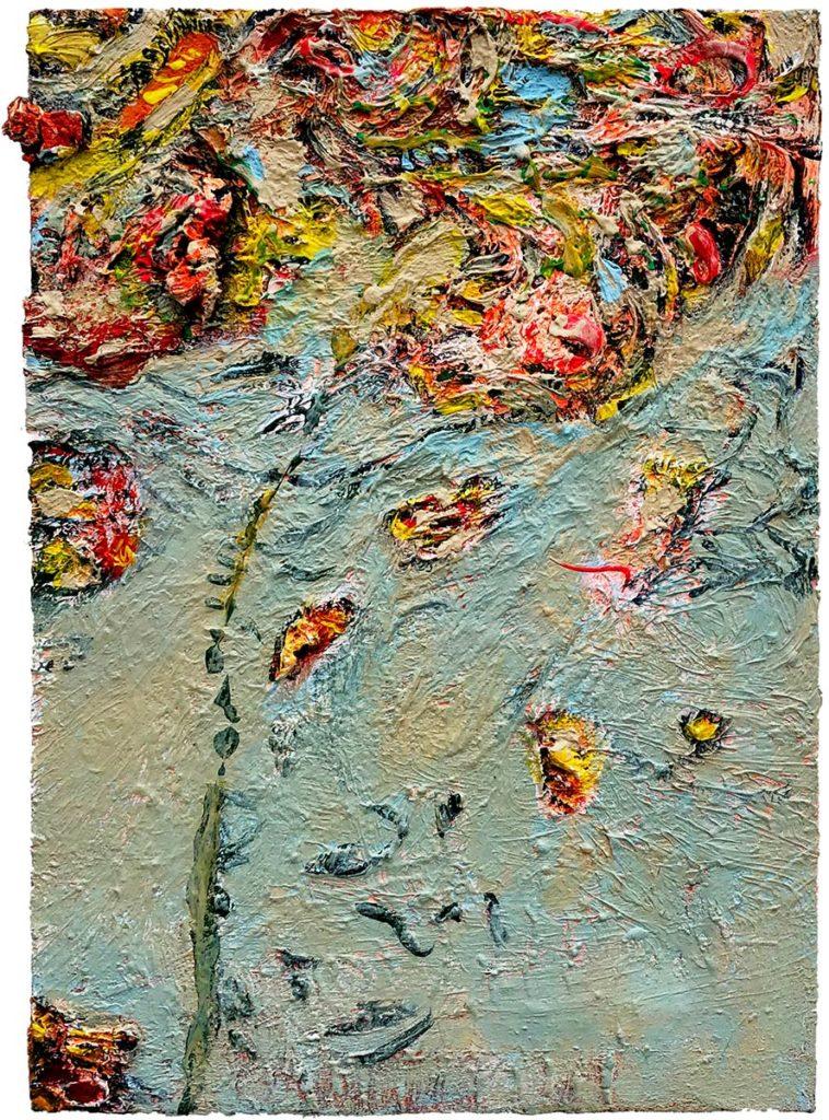 """38) 42,5 x 30cm; Bild aus der Serie """"Einfach Farbe!""""; 2019"""